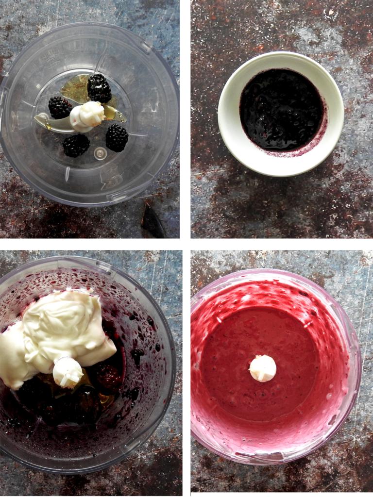 Recipe steps 1-4