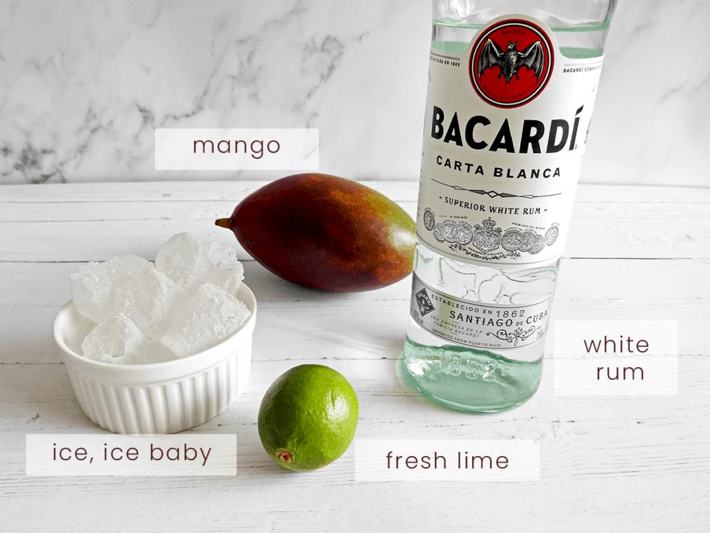 mango daiquiri ingredients