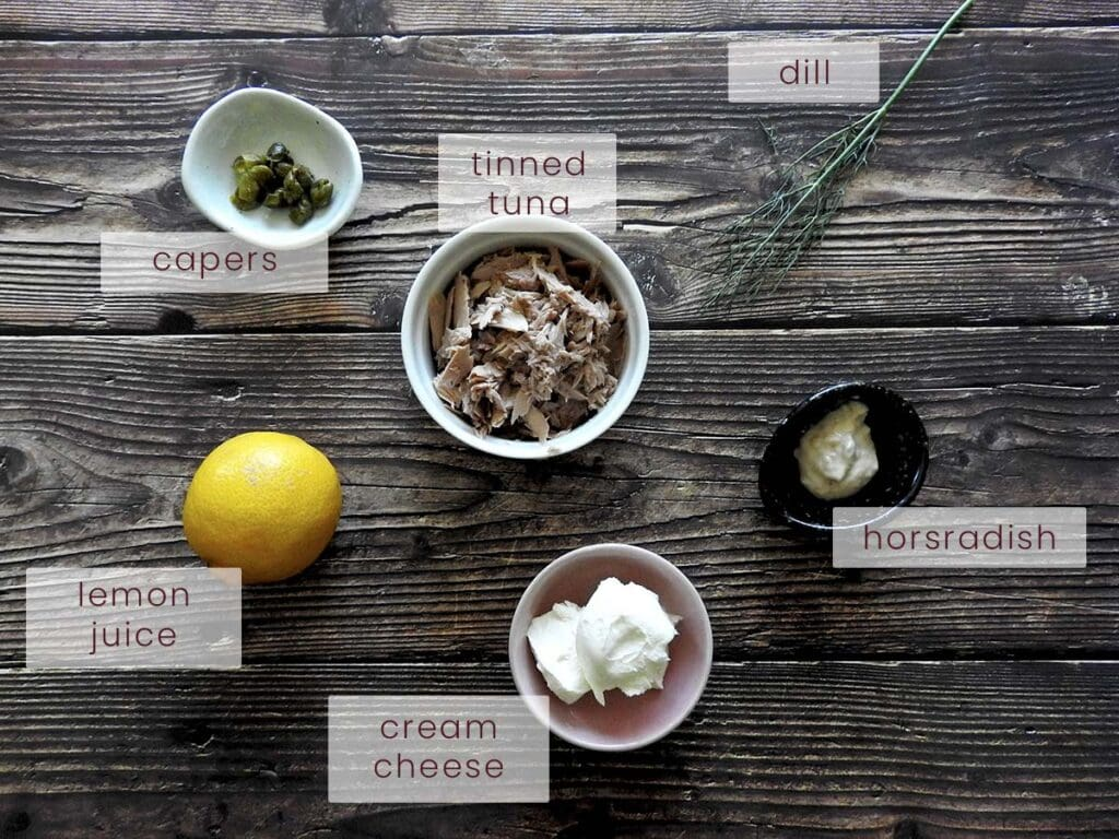 Tuna Pate Ingredients