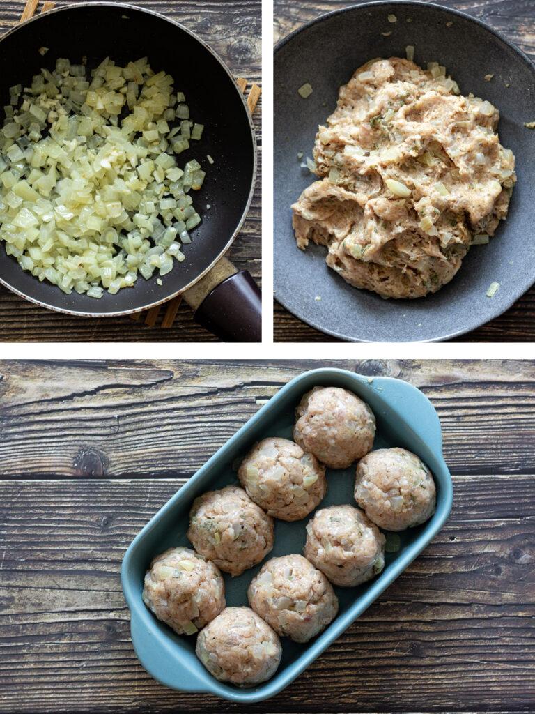 Stuffing Recipe steps