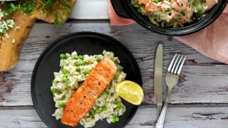 Salmon Risotto Recipe - Feed Your Sole