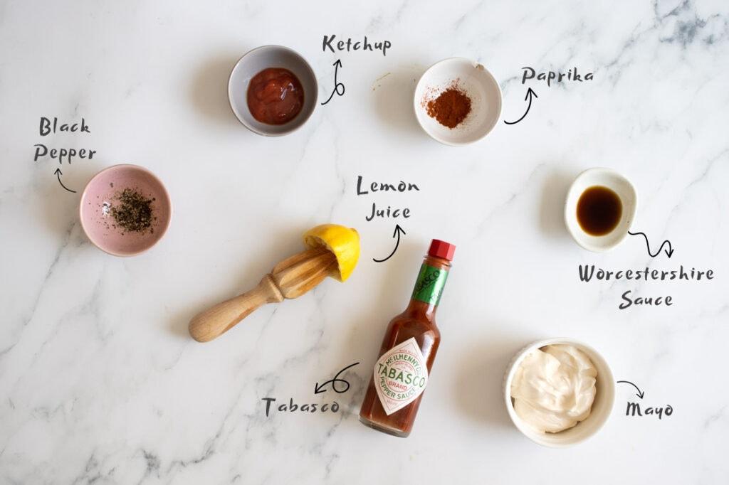 Marie Rose sauce ingredients