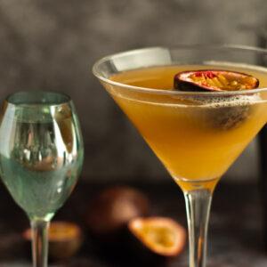 Closeup of Pornstar Martini