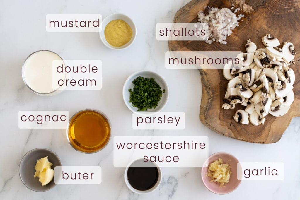 Diane Sauce Ingredients