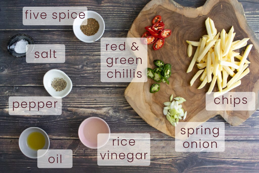 Salt and Pepper Chips Ingredients