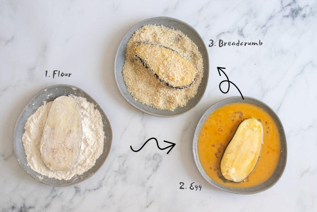 Breadcrumbing Aubergine