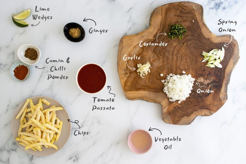 Masala Chips ingredients